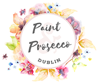 Paint and Prosecco Dublin Logo footer