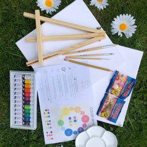 autumn kit paint and prosecco